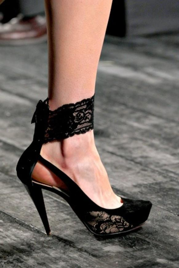 Black Gothic Wedding Shoes
