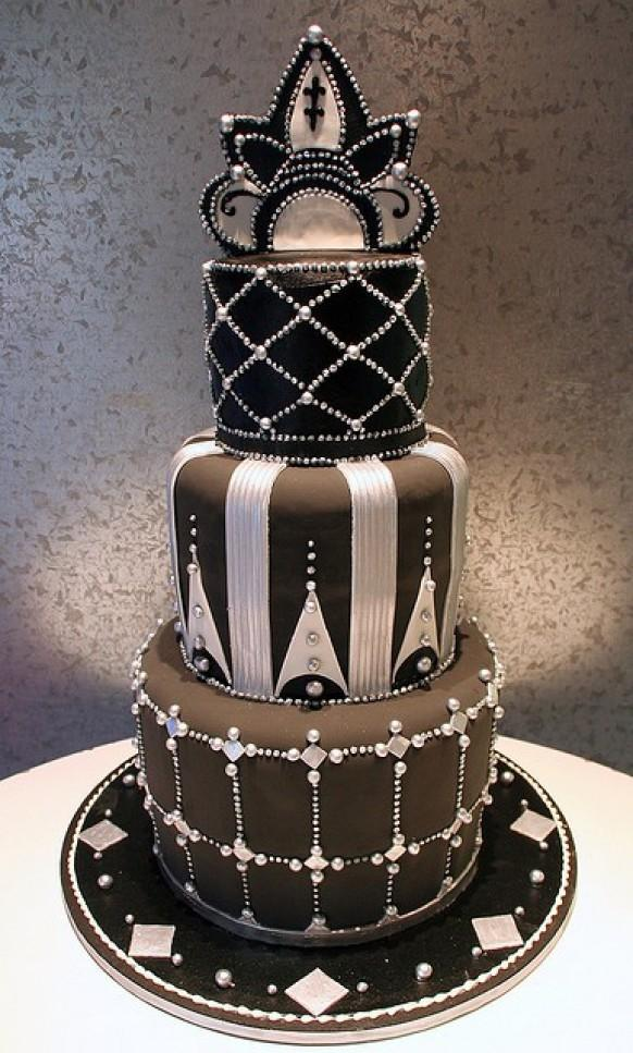 Art Deco Cake Decorations : Cake - Cakes #1121440 - Weddbook
