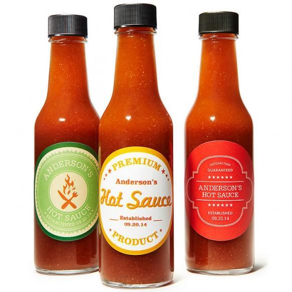 Wedding Gifts - Personalized Hot Sauce #1182011 - Weddbook