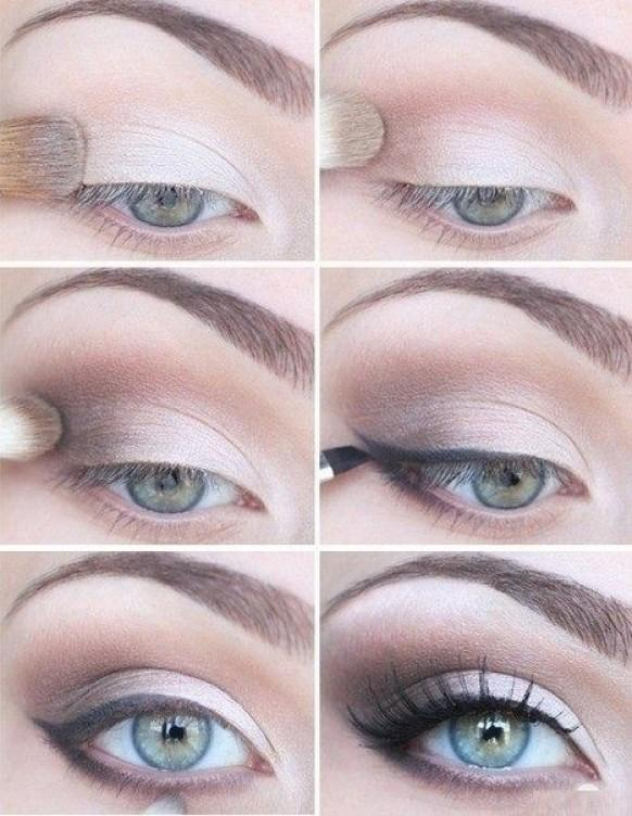 Wedding Makeup Tutorial : Best Wedding Makeup ? Simple and Natural Smokey Eye Wedding ...