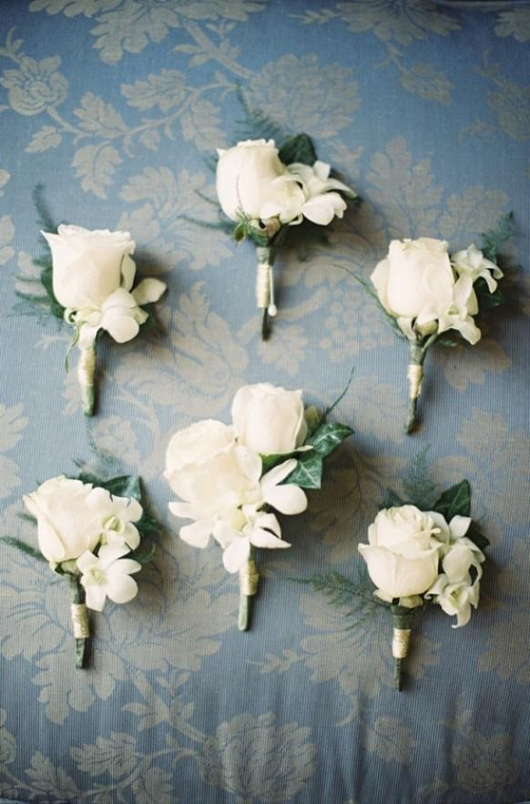 Wedding Flower Ideas For Groomsmen : Boutonnieres - Boutonnieres For The Boys #1504617 - Weddbook