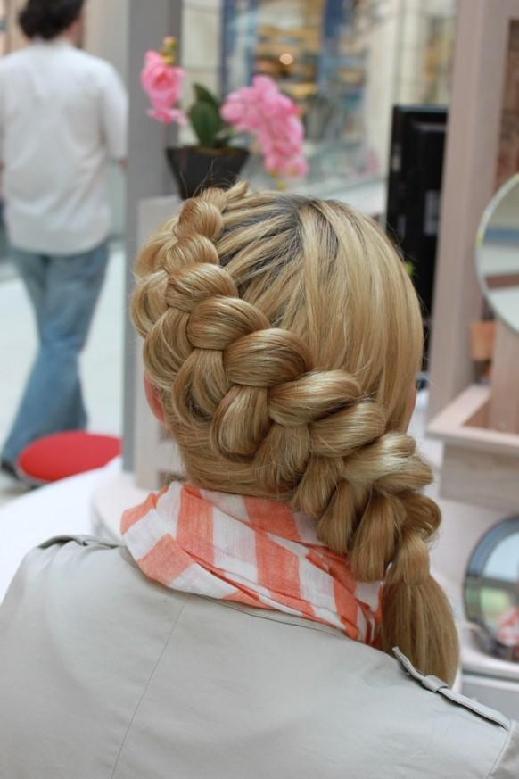 Side braid wedding hairstyles for long hair 1910203 weddbook
