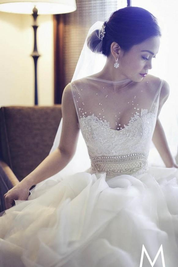 Dress - Veluz Reyes Custom Made Wedding Dresses -1911223 - Weddbook