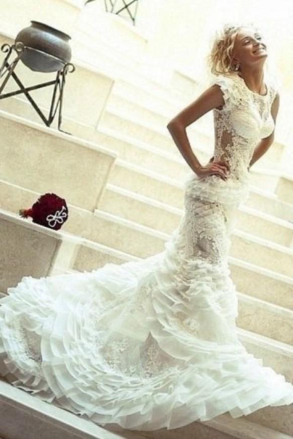 Wedding dresses wedding dress ideas 1919675 weddbook for Unusual dresses to wear to a wedding