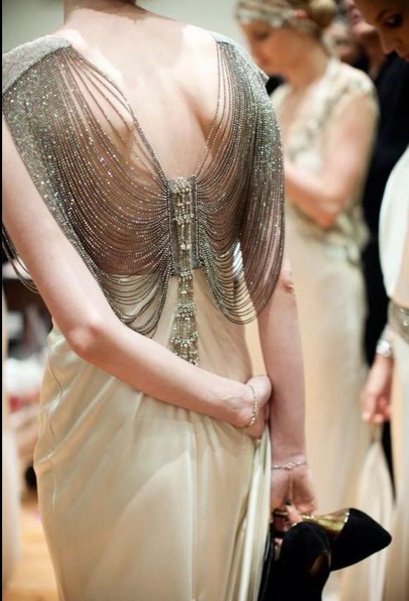 Dress beading bling and detail 1982654 weddbook for Wedding dress bling detail