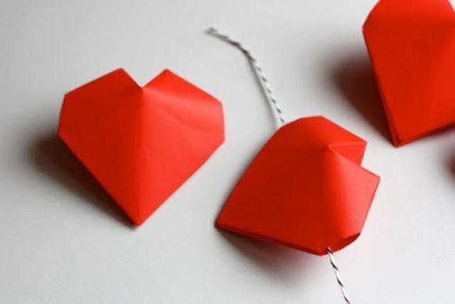 Как сделать объемное сердце из бумаги своими руками