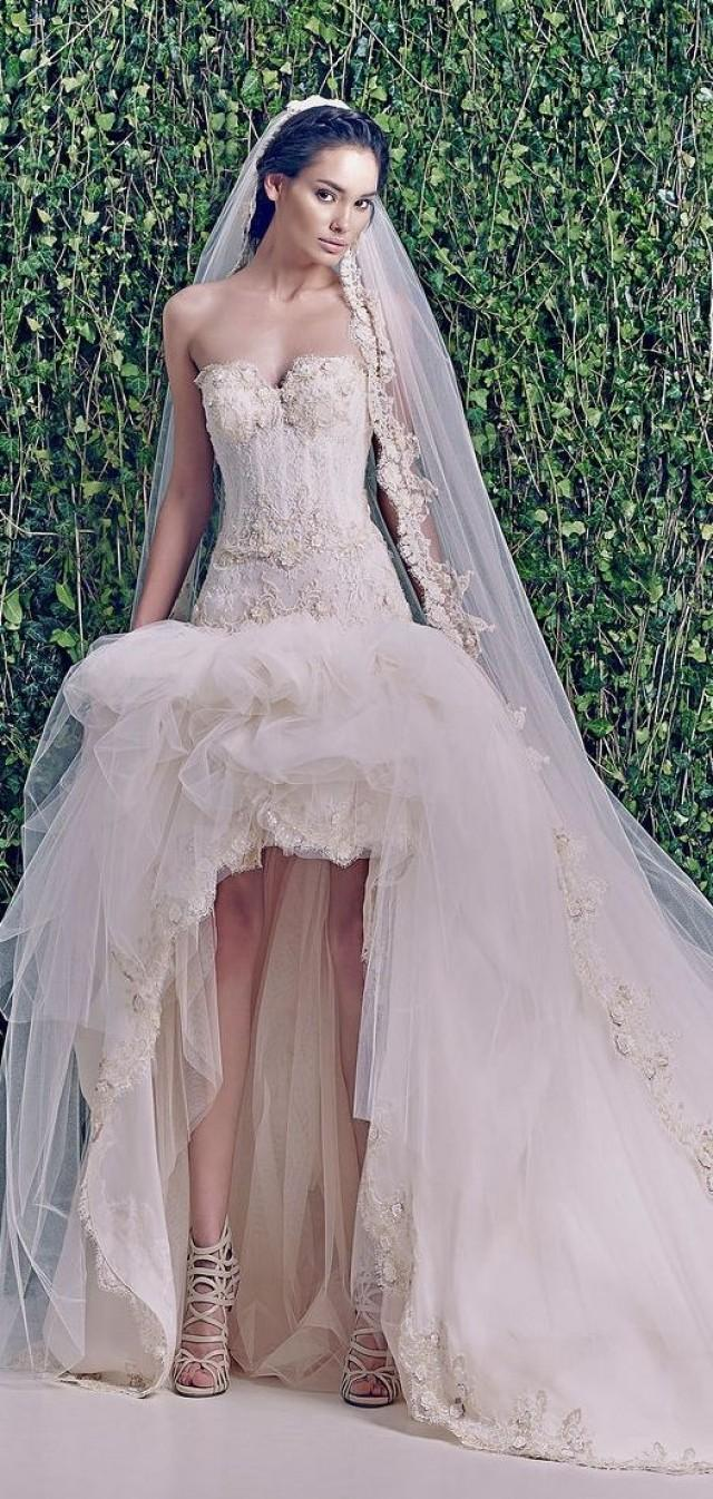 Sophisticated wedding gown by zuhair murad 2027366 weddbook for Zuhair murad wedding dress