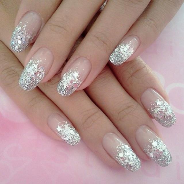 Nail Designs For Wedding Party: Bridal Nail #2057303