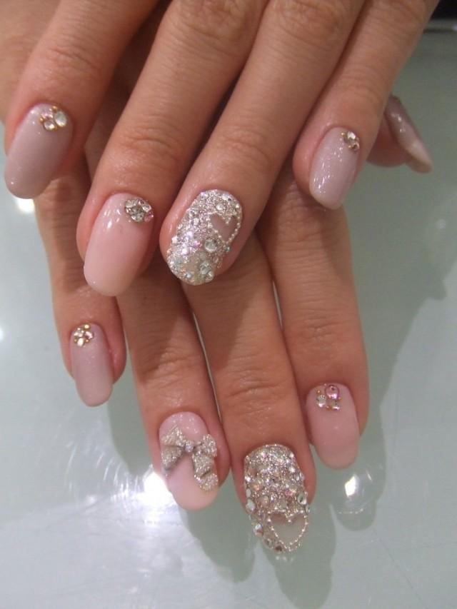 Wedding Nail Designs Pretty 2057304 Weddbook