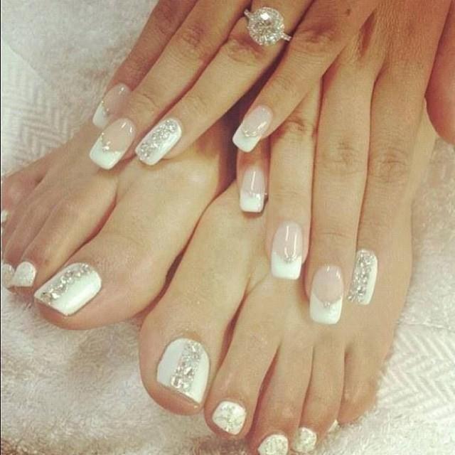 Wedding nail designs wedding nails 2060796 weddbook