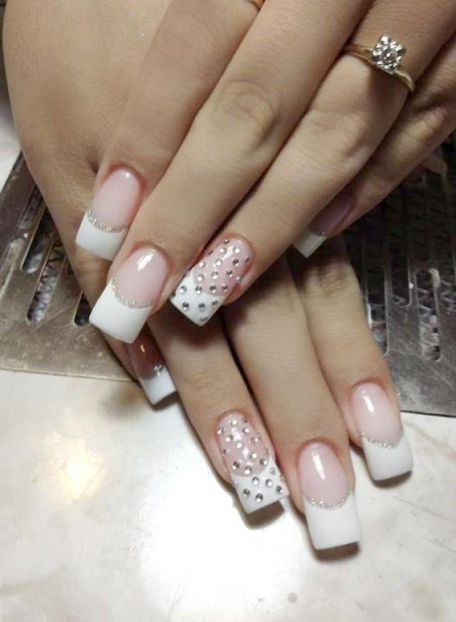PHOTOS Eye Popping Wedding Nails For Every Bride 2065130