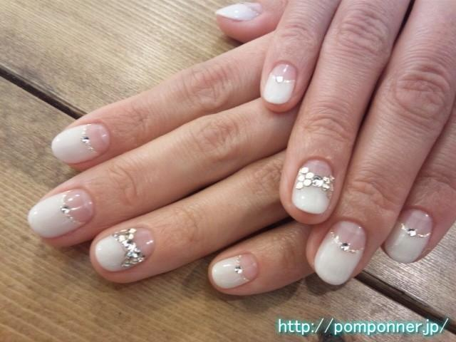 wedding nail designs bridal nail 2065133 weddbook. Black Bedroom Furniture Sets. Home Design Ideas
