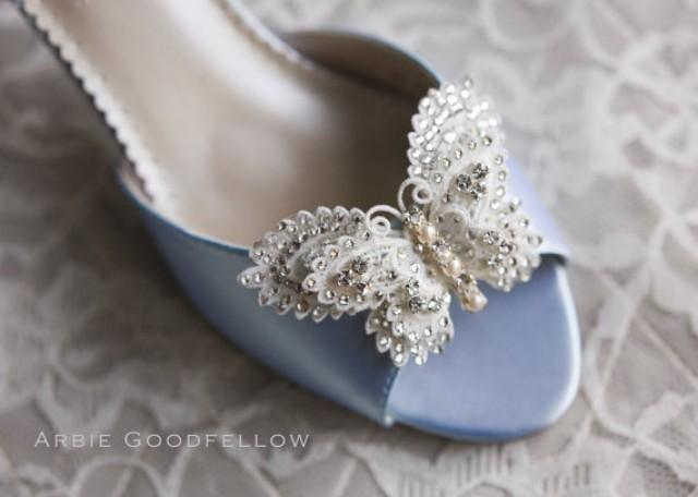 Butterfly Wedding Shoes By Arbie Goodfellow - Custom Shoes ...