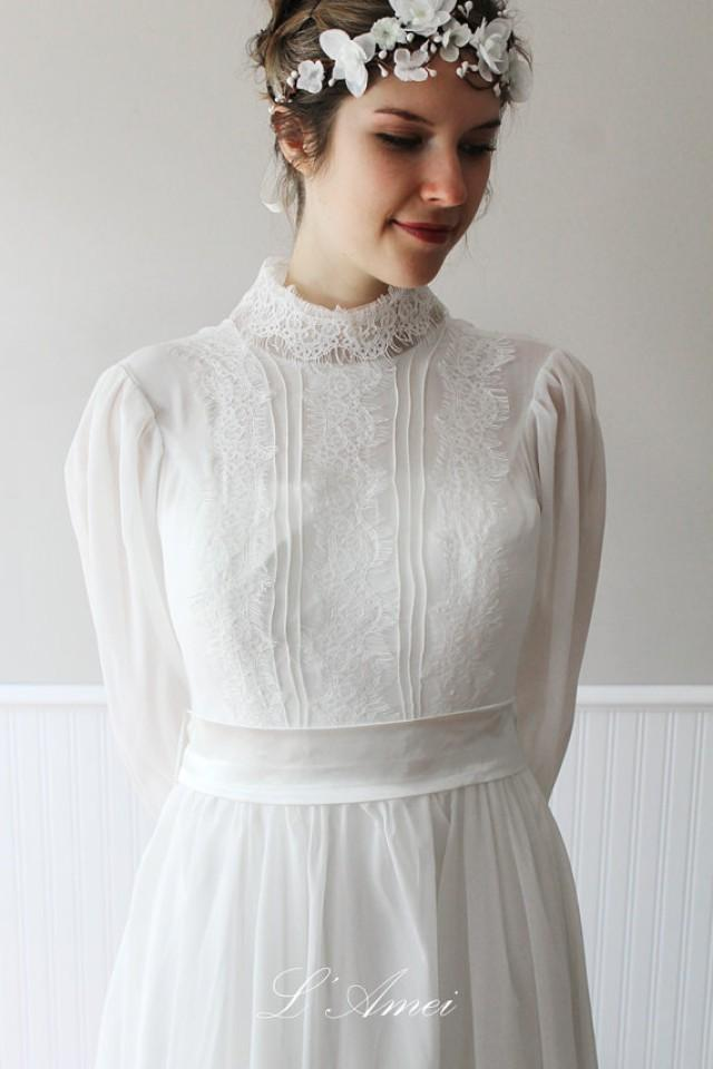 Victorian wedding victorian style wedding dress 2229569 for Vintage victorian wedding dresses