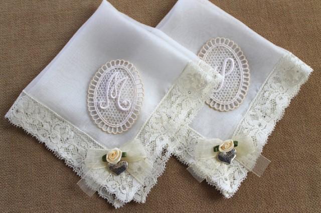 Personalised Wedding Gifts Mother Of The Bride : Personalized Mother Of The Bride Handkerchief Set #2253095Weddbook