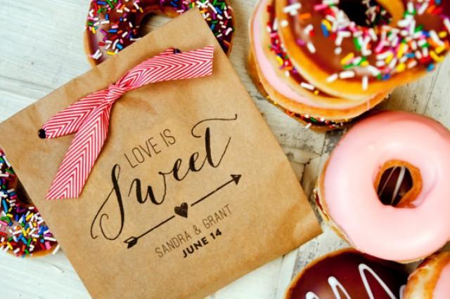 Wedding Favor Donut Bags : ... BagDonut Buffet Favor25 Large Kraft Favor Bags IncludedNew