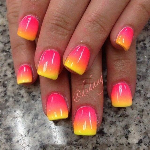 65 Lovely Summer Nail Art Ideas #2518709