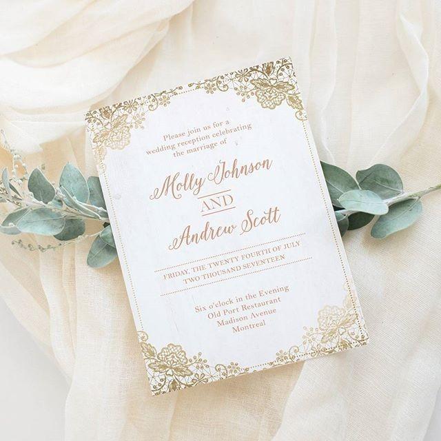 Romantic Wedding Inviration
