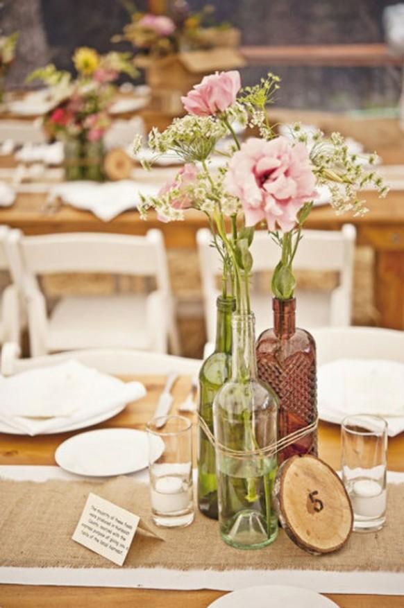 centros de mesa originales y sencillos