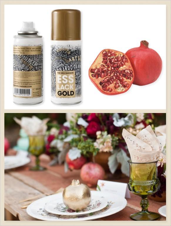 gold wedding edible gold spray paint 792860 weddbook. Black Bedroom Furniture Sets. Home Design Ideas