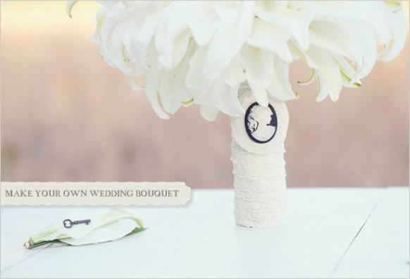 Make Your Own Bridal Bouquet: Make Your Own Bouquet #792970