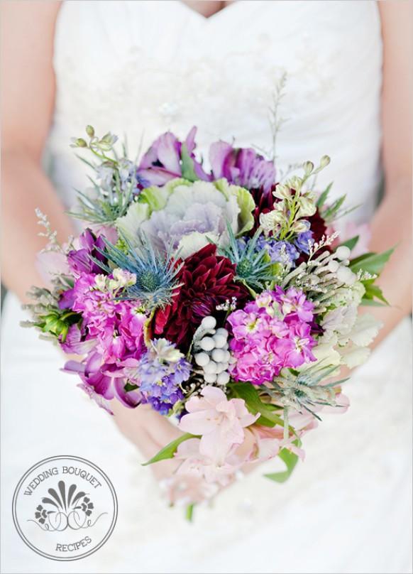 spring wedding spring wildflower bouquet 793376 weddbook. Black Bedroom Furniture Sets. Home Design Ideas