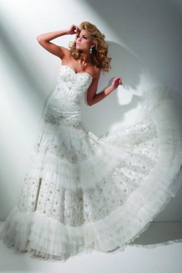 Wedding dresses wedding dress 793731 weddbook for Tony bowls wedding dresses