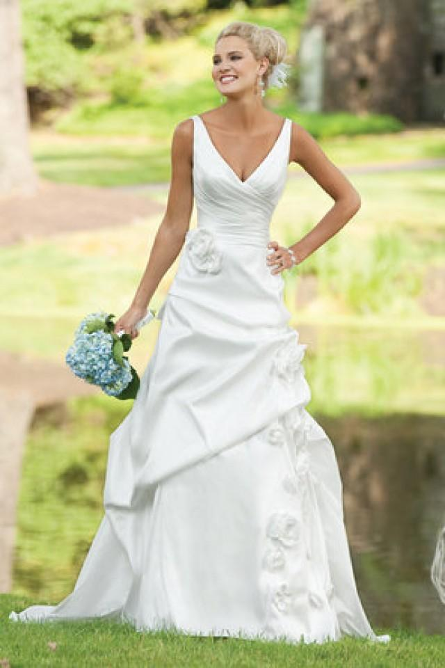 Dress kathy ireland weddings by 2be 793906 weddbook for Best wedding dress for wide shoulders