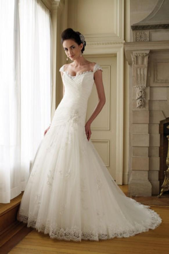 dress david tutera for mon cheri 793994 weddbook