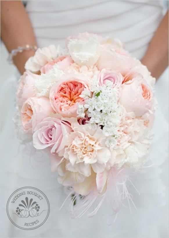 wedding photo - Pink Wedding Bouquets