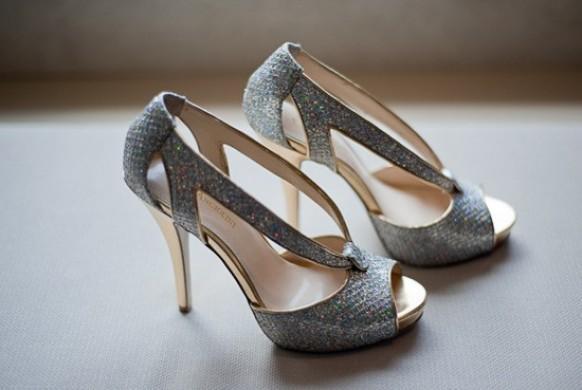 silver sparkly wedding shoes glitter bridal shoes 796547 weddbook