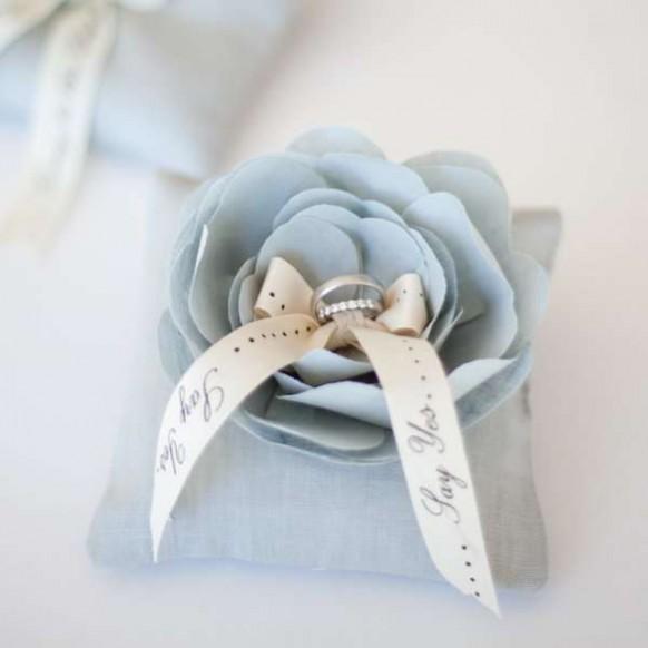 rose wedding wedding ring pillow 803718 weddbook - Wedding Ring Pillow