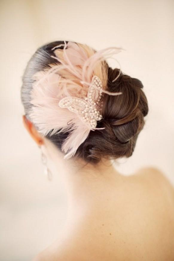 wedding photo - Chic Wedding HairStyles ♥ Wedding Side Updo Hairstyle