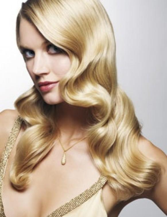 Hairstyles For Long Hair Glamour : Glamour Wedding HairStyles ? Long Shiny Curls Wedding Hair #804133 ...