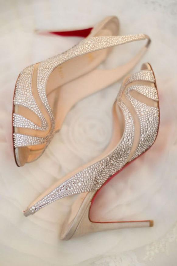 Christian Louboutin Wedding Shoes ♥ Chic and Fashionable Wedding High Heel Shoes