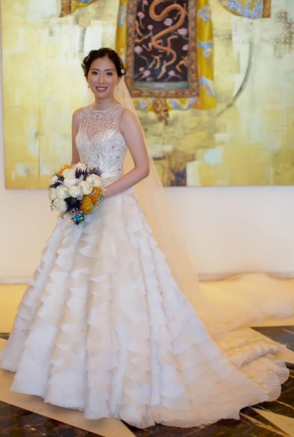 image of Chic Special Design Wedding Dress 