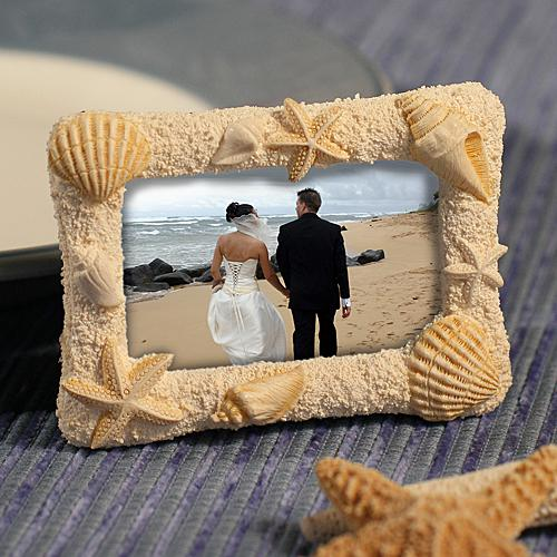 Wedding Gifts Beach Themed Photo Frames Wedding Favors 1180950