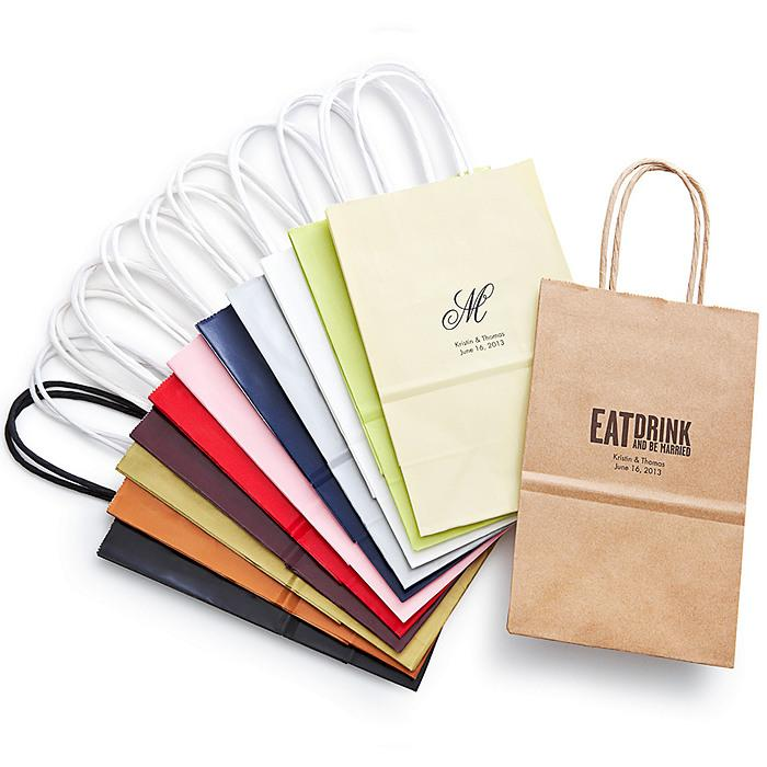 Small Personalised Wedding Gift Bags : Wedding GiftsPersonalized Welcome BagSmall #1181982Weddbook