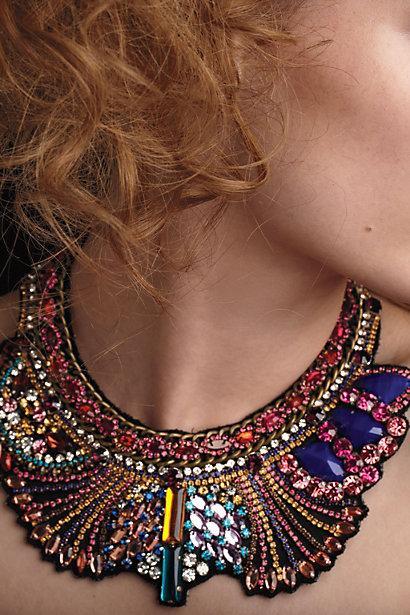 Hochzeit - Erstaunlich Hand Beaded Collar
