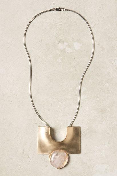 Hochzeit - Monolith Halskette - B