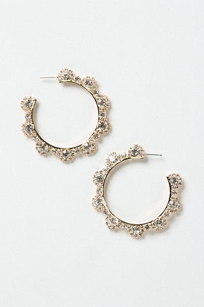 Wedding - Crystallized Hoops - B