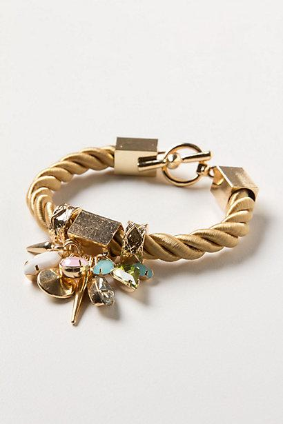 Wedding - Roped Charms Cuff - B