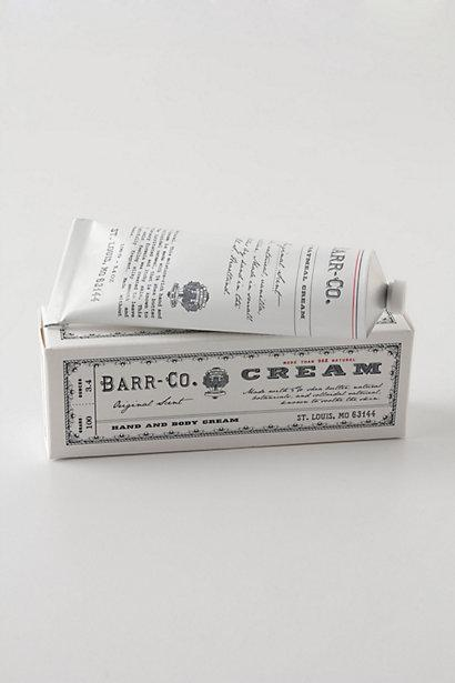 Wedding - Barr-Co. Hand Cream - B