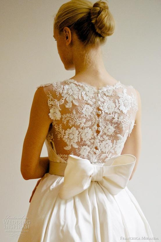 Francesca Miranda 2013 Bridal Collection Emanuelle Lace Back Wedding Dress 1911191