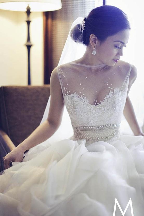 Dress - Veluz Reyes Custom Made Wedding Dresses #1911223 - Weddbook