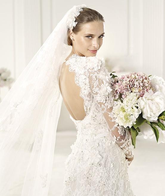 Pronovias Elie Saab Lyon 2013 Bridal Collection ♥ Gorgeous Hand ...