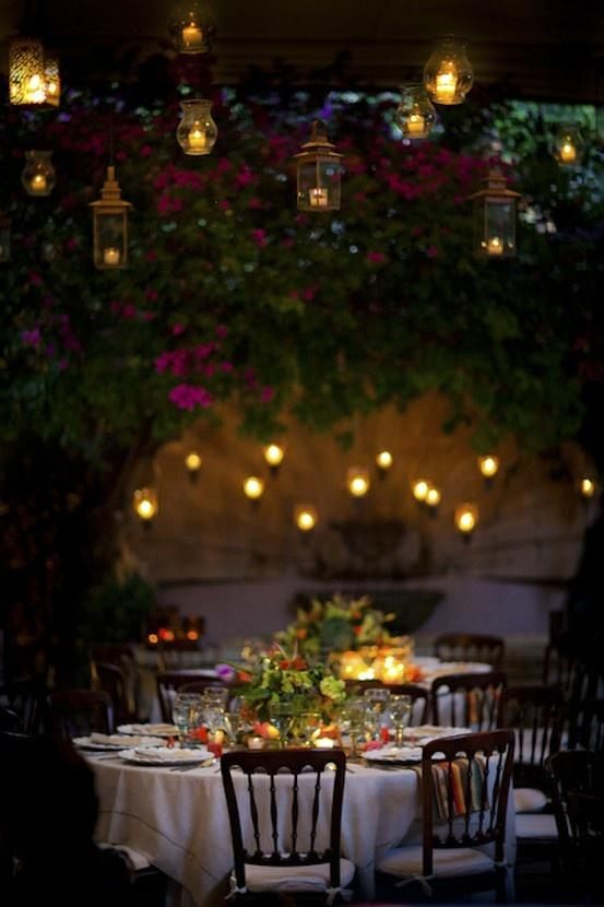 Romantic Backyard Dinner Ideas : Responder Inscreverse