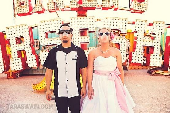 Beautiful Rockabilly U0026 Vintage Outdoor Wedding Ideas
