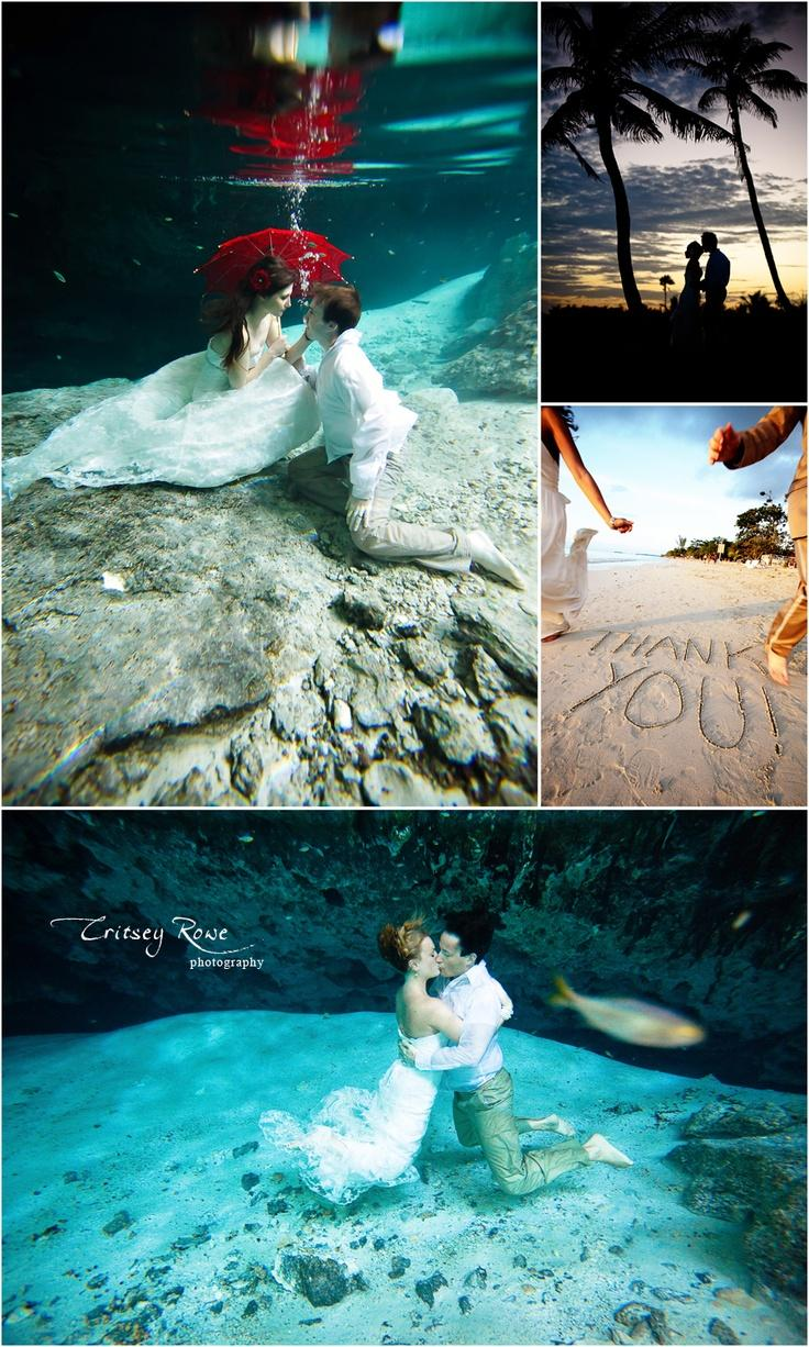 Mermaid wedding