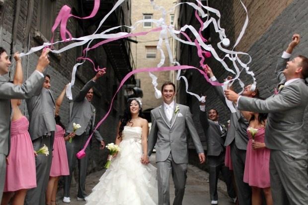 Svečano Da - Page 6 Pink-grey-wedding-inspiration